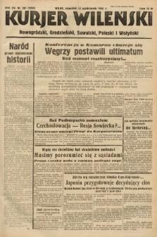 Kurjer Wileński, Nowogródzki, Grodzieński, Suwalski, Poleski i Wołyński. 1938, nr281