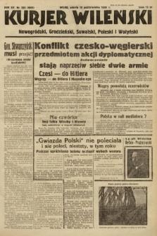 Kurjer Wileński, Nowogródzki, Grodzieński, Suwalski, Poleski i Wołyński. 1938, nr283