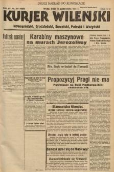 Kurjer Wileński, Nowogródzki, Grodzieński, Suwalski, Poleski i Wołyński. 1938, nr287