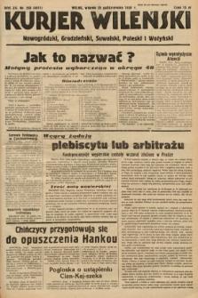 Kurjer Wileński, Nowogródzki, Grodzieński, Suwalski, Poleski i Wołyński. 1938, nr293