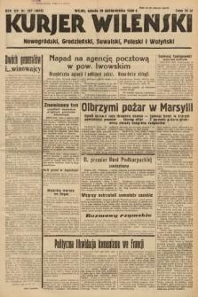 Kurjer Wileński, Nowogródzki, Grodzieński, Suwalski, Poleski i Wołyński. 1938, nr297
