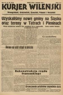 Kurjer Wileński, Nowogródzki, Grodzieński, Suwalski, Poleski i Wołyński. 1938, nr301
