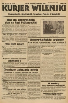 Kurjer Wileński, Nowogródzki, Grodzieński, Suwalski, Poleski i Wołyński. 1938, nr309