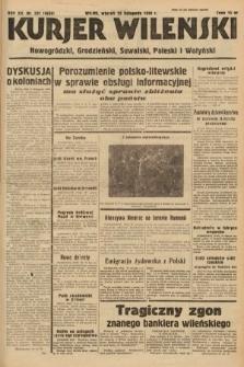 Kurjer Wileński, Nowogródzki, Grodzieński, Suwalski, Poleski i Wołyński. 1938, nr321