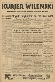 Kurjer Wileński, Nowogródzki, Grodzieński, Suwalski, Poleski i Wołyński. 1938, nr349