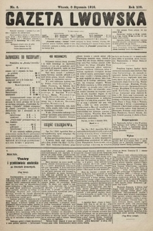 Gazeta Lwowska. 1918, nr6