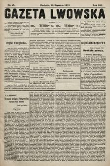 Gazeta Lwowska. 1918, nr17