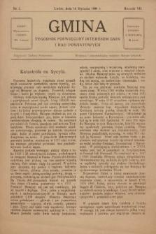 Gmina : tygodnik poświęcony interesom gmin i rad powiatowych. 1909, nr2