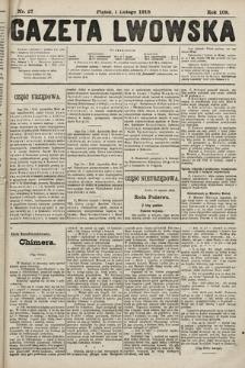 Gazeta Lwowska. 1918, nr27