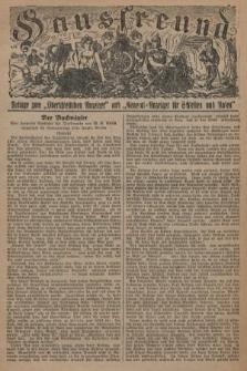 """Hausfreund : Beilage zum """"Oberschlesischen Anzeiger"""" und """"General-Anzeiger für Schlesien und Posen"""". 1929, [nr3]"""
