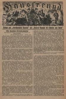 """Hausfreund : Beilage zum """"Oberschlesischen Anzeiger"""" und """"General-Anzeiger für Schlesien und Posen"""". 1929, [nr5]"""