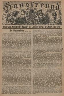 """Hausfreund : Beilage zum """"Oberschlesischen Anzeiger"""" und """"General-Anzeiger für Schlesien und Posen"""". 1929, [nr9]"""