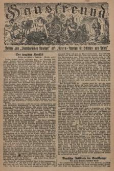 """Hausfreund : Beilage zum """"Oberschlesischen Anzeiger"""" und """"General-Anzeiger für Schlesien und Posen"""". 1929, [nr10]"""