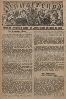 """Hausfreund : Beilage zum """"Oberschlesischen Anzeiger"""" und """"General-Anzeiger für Schlesien und Posen"""". 1929, [nr12]"""