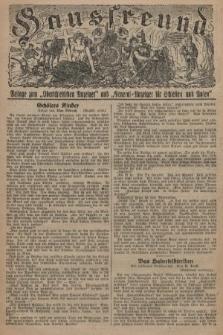 """Hausfreund : Beilage zum """"Oberschlesischen Anzeiger"""" und """"General-Anzeiger für Schlesien und Posen"""". 1929, [nr13]"""