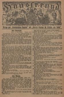 """Hausfreund : Beilage zum """"Oberschlesischen Anzeiger"""" und """"General-Anzeiger für Schlesien und Posen"""". 1929, [nr16]"""