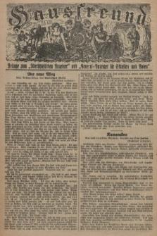 """Hausfreund : Beilage zum """"Oberschlesischen Anzeiger"""" und """"General-Anzeiger für Schlesien und Posen"""". 1929, [nr18]"""