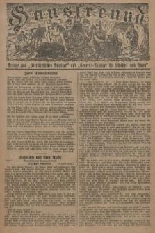 """Hausfreund : Beilage zum """"Oberschlesischen Anzeiger"""" und """"General-Anzeiger für Schlesien und Posen"""". 1929, [nr21]"""