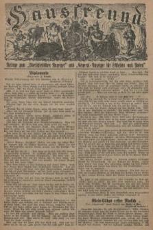 """Hausfreund : Beilage zum """"Oberschlesischen Anzeiger"""" und """"General-Anzeiger für Schlesien und Posen"""". 1929, [nr22]"""
