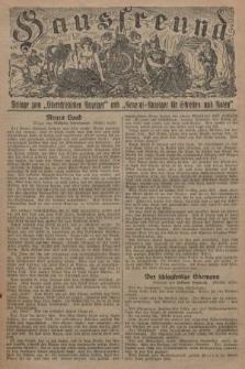 """Hausfreund : Beilage zum """"Oberschlesischen Anzeiger"""" und """"General-Anzeiger für Schlesien und Posen"""". 1929, [nr23]"""