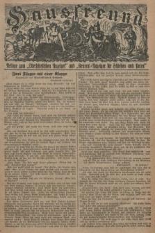 """Hausfreund : Beilage zum """"Oberschlesischen Anzeiger"""" und """"General-Anzeiger für Schlesien und Posen"""". 1929, [nr28]"""