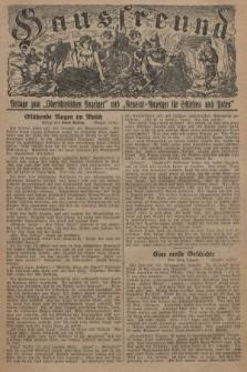 """Hausfreund : Beilage zum """"Oberschlesischen Anzeiger"""" und """"General-Anzeiger für Schlesien und Posen"""". 1929, [nr29]"""