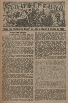 """Hausfreund : Beilage zum """"Oberschlesischen Anzeiger"""" und """"General-Anzeiger für Schlesien und Posen"""". 1929, [nr33]"""