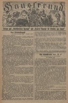 """Hausfreund : Beilage zum """"Oberschlesischen Anzeiger"""" und """"General-Anzeiger für Schlesien und Posen"""". 1929, [nr38]"""