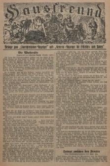 """Hausfreund : Beilage zum """"Oberschlesischen Anzeiger"""" und """"General-Anzeiger für Schlesien und Posen"""". 1929, [nr40]"""