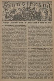 """Hausfreund : Beilage zum """"Oberschlesischen Anzeiger"""" und """"General-Anzeiger für Schlesien und Posen"""". 1929, [nr43]"""