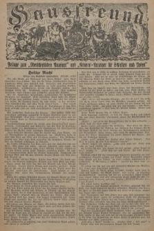 """Hausfreund : Beilage zum """"Oberschlesischen Anzeiger"""" und """"General-Anzeiger für Schlesien und Posen"""". 1929, [nr44]"""