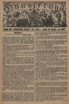 """Hausfreund : Beilage zum """"Oberschlesischen Anzeiger"""" und """"General-Anzeiger für Schlesien und Posen"""". 1929, [nr49]"""