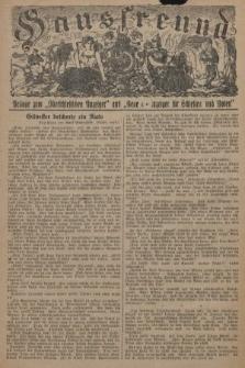 """Hausfreund : Beilage zum """"Oberschlesischen Anzeiger"""" und """"General-Anzeiger für Schlesien und Posen"""". 1929, [nr50]"""