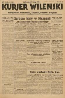 Kurjer Wileński, Nowogródzki, Grodzieński, Suwalski, Poleski i Wołyński. 1939, nr45