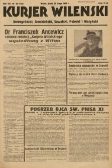 Kurjer Wileński, Nowogródzki, Grodzieński, Suwalski, Poleski i Wołyński. 1939, nr46