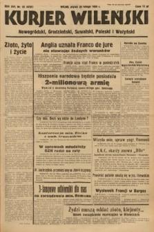 Kurjer Wileński, Nowogródzki, Grodzieński, Suwalski, Poleski i Wołyński. 1939, nr55