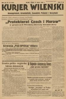 Kurjer Wileński, Nowogródzki, Grodzieński, Suwalski, Poleski i Wołyński. 1939, nr76