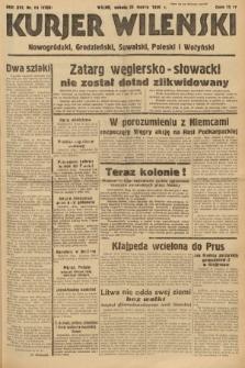Kurjer Wileński, Nowogródzki, Grodzieński, Suwalski, Poleski i Wołyński. 1939, nr84