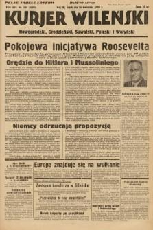 Kurjer Wileński, Nowogródzki, Grodzieński, Suwalski, Poleski i Wołyński. 1939, nr104