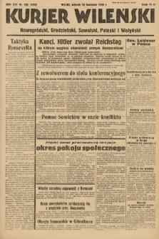 Kurjer Wileński, Nowogródzki, Grodzieński, Suwalski, Poleski i Wołyński. 1939, nr106