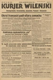 Kurjer Wileński, Nowogródzki, Grodzieński, Suwalski, Poleski i Wołyński. 1939, nr108
