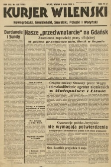 Kurjer Wileński, Nowogródzki, Grodzieński, Suwalski, Poleski i Wołyński. 1939, nr120