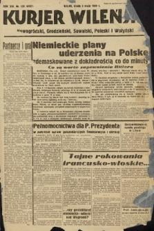 Kurjer Wileński, Nowogródzki, Grodzieński, Suwalski, Poleski i Wołyński. 1939, nr121