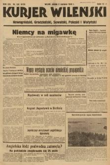 Kurjer Wileński, Nowogródzki, Grodzieński, Suwalski, Poleski i Wołyński. 1939, nr150