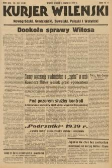 Kurjer Wileński, Nowogródzki, Grodzieński, Suwalski, Poleski i Wołyński. 1939, nr 154a [skonfiskowany]