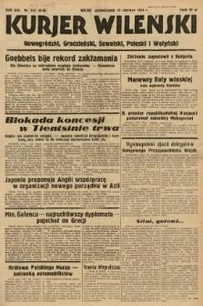 Kurjer Wileński, Nowogródzki, Grodzieński, Suwalski, Poleski i Wołyński. 1939, nr173