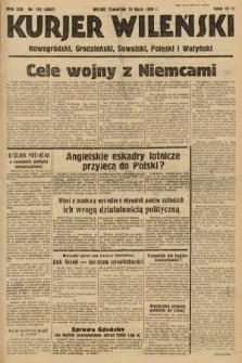Kurjer Wileński, Nowogródzki, Grodzieński, Suwalski, Poleski i Wołyński. 1939, nr191