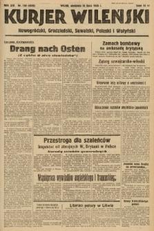 Kurjer Wileński, Nowogródzki, Grodzieński, Suwalski, Poleski i Wołyński. 1939, nr194