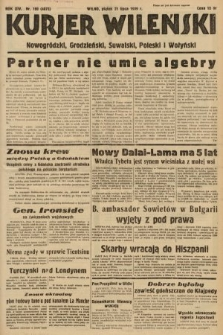 Kurjer Wileński, Nowogródzki, Grodzieński, Suwalski, Poleski i Wołyński. 1939, nr199