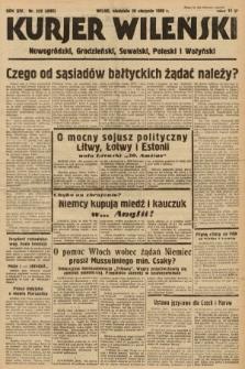 Kurjer Wileński, Nowogródzki, Grodzieński, Suwalski, Poleski i Wołyński. 1939, nr229
